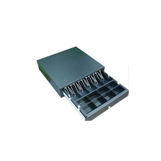 Sertar metalic mare MK-410, 6-24 volti, 5 spatii bancnote