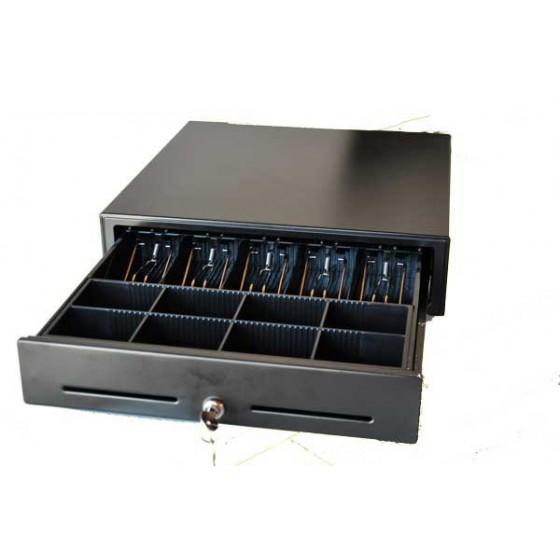 Sertar de bani metalic KT 410 cu deschidere tip touch