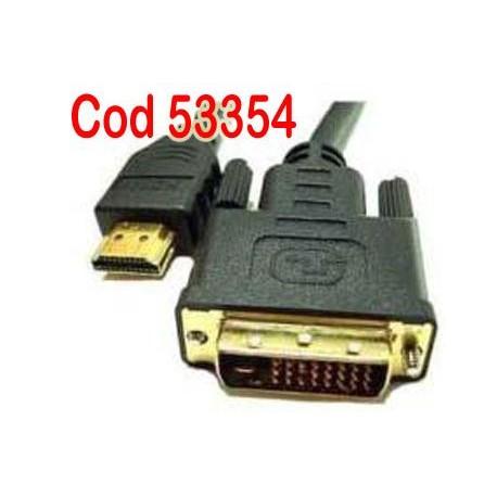 HDMI Tata la DVI-D cablu pentru FLAT TV 1,5m