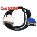 DVI la VGA/SVGA video cable HDTV LCD