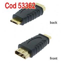 MINI HDMI la HDMI Mama-Mama  Adaptor