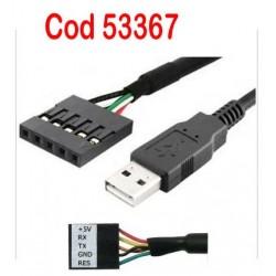 Adaptor USB -RS232 TTL  1.8 m